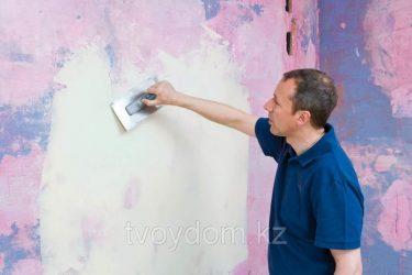 Как подготовить бетонные стены под покраску?