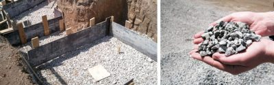 Какой щебень нужен для фундамента дома?