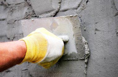 штукатурка цементным раствором пеноблоков