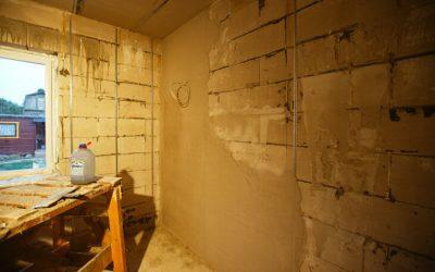 Внутренняя отделка дома из газосиликатных блоков