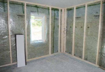 Пароизоляция при утеплении стен изнутри