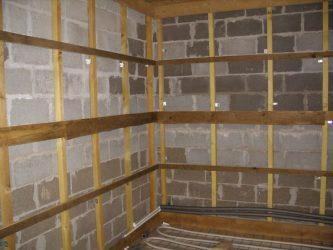 Утепление бани из газосиликатных блоков изнутри