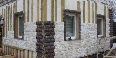 Чем лучше облицевать дом из газобетона?