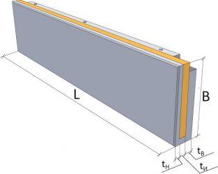Трехслойные железобетонные стеновые панели для жилых домов