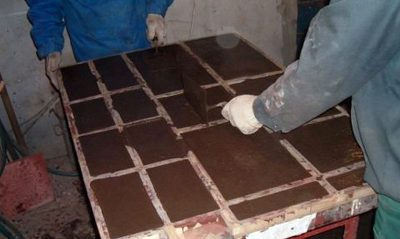 Изготовление мраморной плиты в домашних условиях