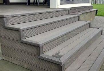 Материал для ступеней лестницы на улице