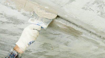 Заделка швов между плитами перекрытия