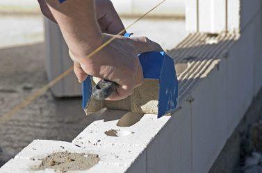 Можно класть пеноблок на цементный раствор купит бетона миксер бу