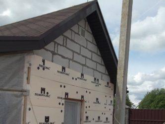 Можно ли утеплять дом из газобетона пеноплексом?