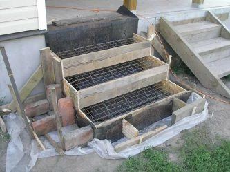 Как сделать лестницу из бетона своими руками?