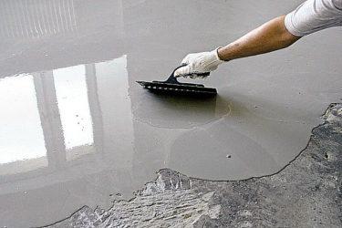 Можно ли использовать наливной пол вместо стяжки?